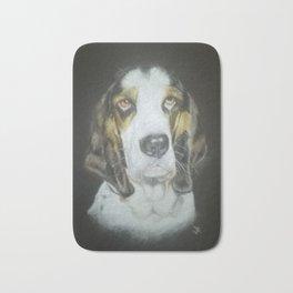Derek the dog Bath Mat