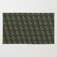vegetable Area & Throw Rugs featuring Vegetable Medley by Veronica Galbraith
