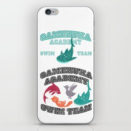 Samezuka - Whale Shark iPhone Skin