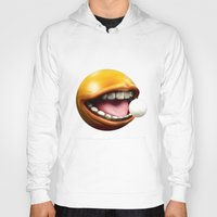 pacman Hoodies featuring PacMan by Joshua A. Biron