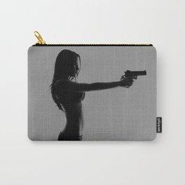 Girls love guns Carry-All Pouch