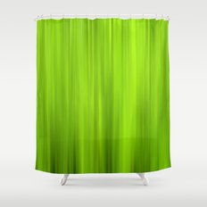green grass abstract VII Shower Curtain
