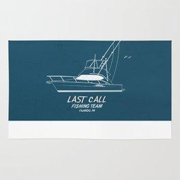 Last Call Boat Rug