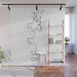 Drawn Wall Mural