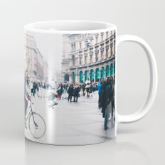 Biking in Milan Coffee Mug