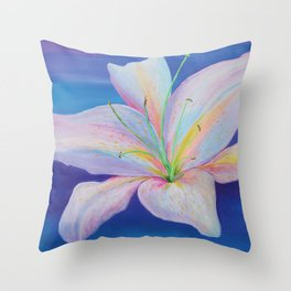 Lily G Throw Pillow