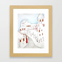 Carcassonne Framed Art Print