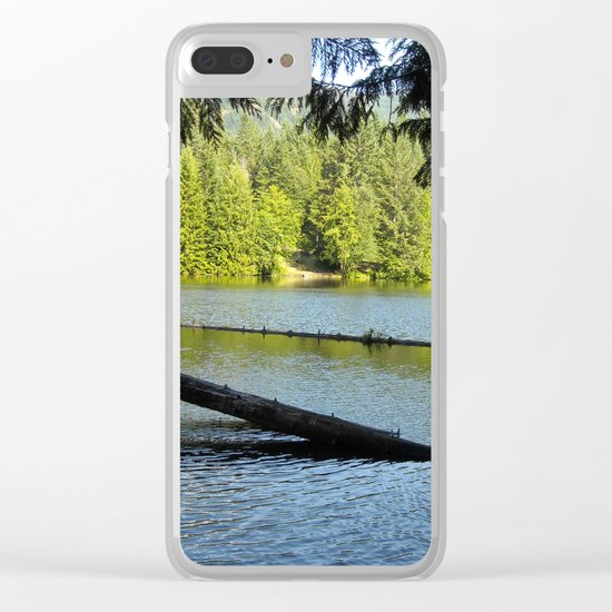 Alice Lake Clear iPhone Case