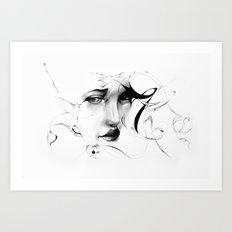 Line 5 Art Print