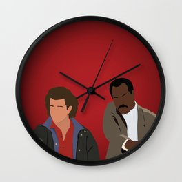 Lethal Weapon - Riggs and Murtaugh Wall Clock