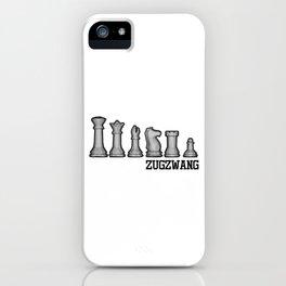 Zugzwang Schach Schachfiguren iPhone Case