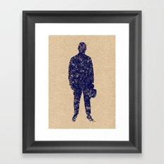 - closer to the sea - Framed Art Print
