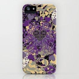 Purple Heart iPhone Case