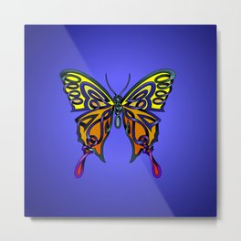 Butterfly-knot Metal Print
