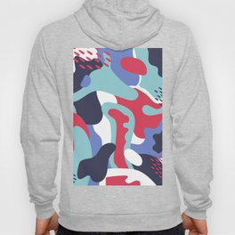 Camo Art Abstract Design Hoody
