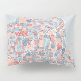 San Francisco modern map Pillow Sham