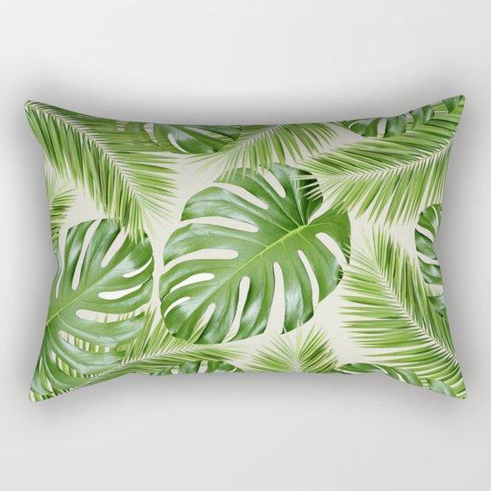 I Need a Tropical Vacation Print Rectangular Pillow