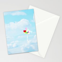 Balloons in the Sky Stationery Cards