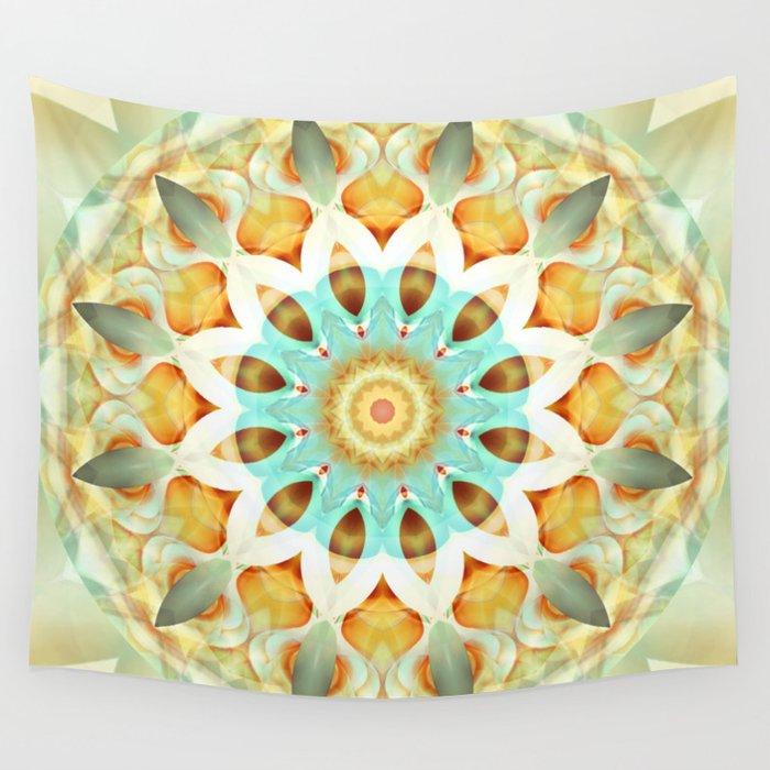 Mandala soft touch Wall Tapestry