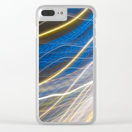 Venetian Lights Number 1 Clear iPhone Case