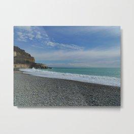 Nice, France: Castel Beach Metal Print