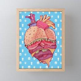 Inner Fast Food Framed Mini Art Print