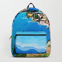 Lake Garda, Italy Backpack
