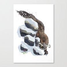 Winter & Spring Canvas Print