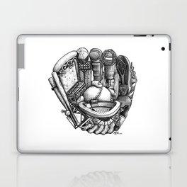 Baseball Glove Laptop & iPad Skin