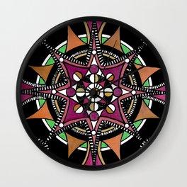 Mandala 011 Wall Clock