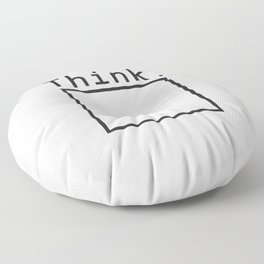 Outside the Box Floor Pillow