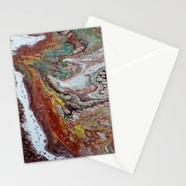Naissance, acrylic on canvas Stationery Cards