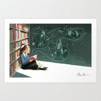I Dissent: Library Art Print