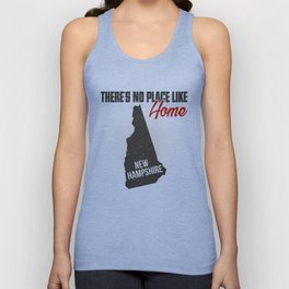 No place like home - New Hampshire Unisex Tank Top