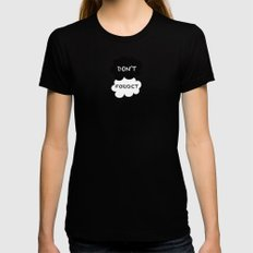 DFTBA TFIOS Nerdfighter Vlogbrothers Don't Forget to be Awesome, The Fault in Our Stars, John Green MEDIUM Womens Fitted Tee Black