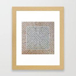 All Boxed In Framed Art Print