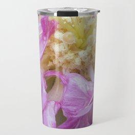 Dark Pink Beauty - Flower Photography Travel Mug