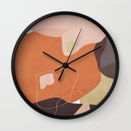 Modern minimal forms 25 Wall Clock