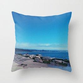 Capitola Beach Throw Pillow
