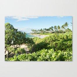 Mokapu Ulua Beach Wailea Maui Hawaii Canvas Print