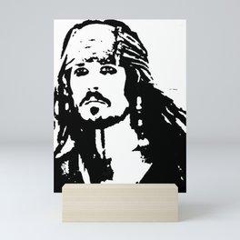 pirates caribbean sea Mini Art Print