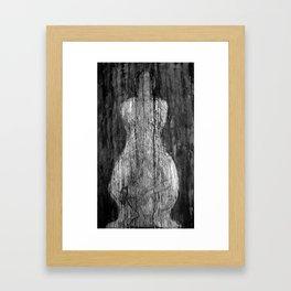 Magdalena V (ausencia, presencia) Framed Art Print