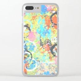 Graffiti Park Clear iPhone Case