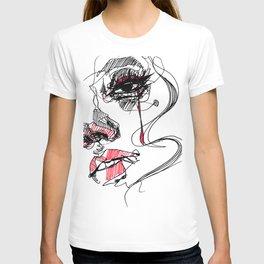 Tear_ line T-shirt