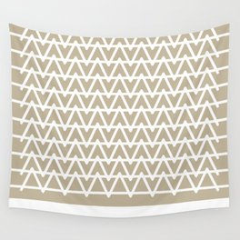 Grey & White pattern Wall Tapestry
