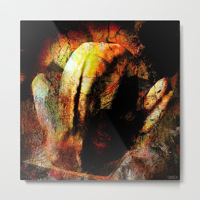 Abstract body 2 Metal Print