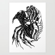 Flea Art Print