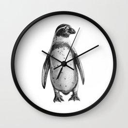 Peruvian Penguin sketch SK095 Wall Clock