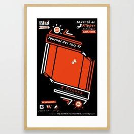 Pinball Contest #2  Framed Art Print