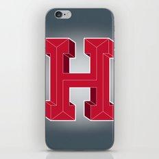 Alphabet H iPhone & iPod Skin
